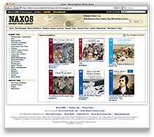 Naxos Spoken Word Library