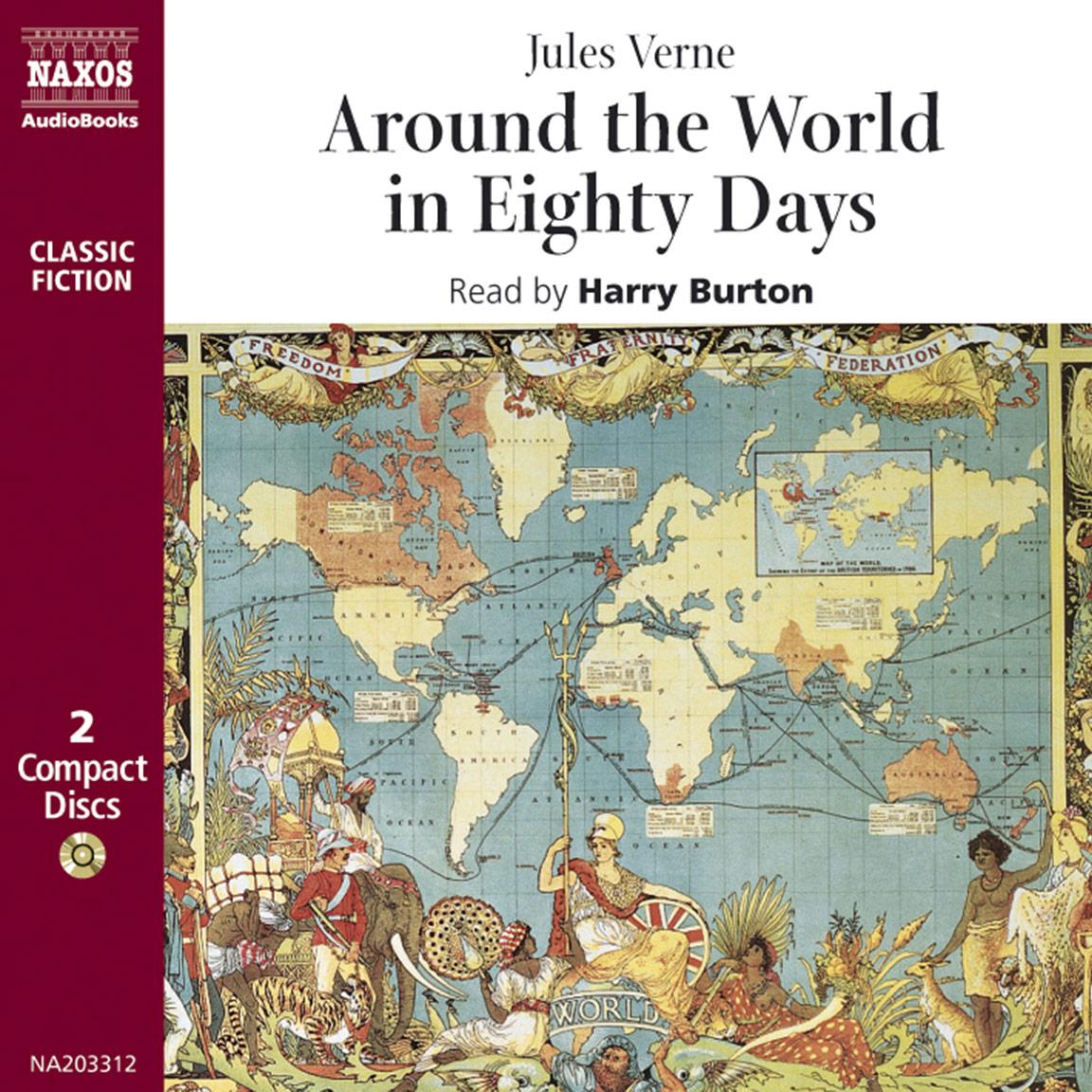Around the World in Eighty Days (abridged)