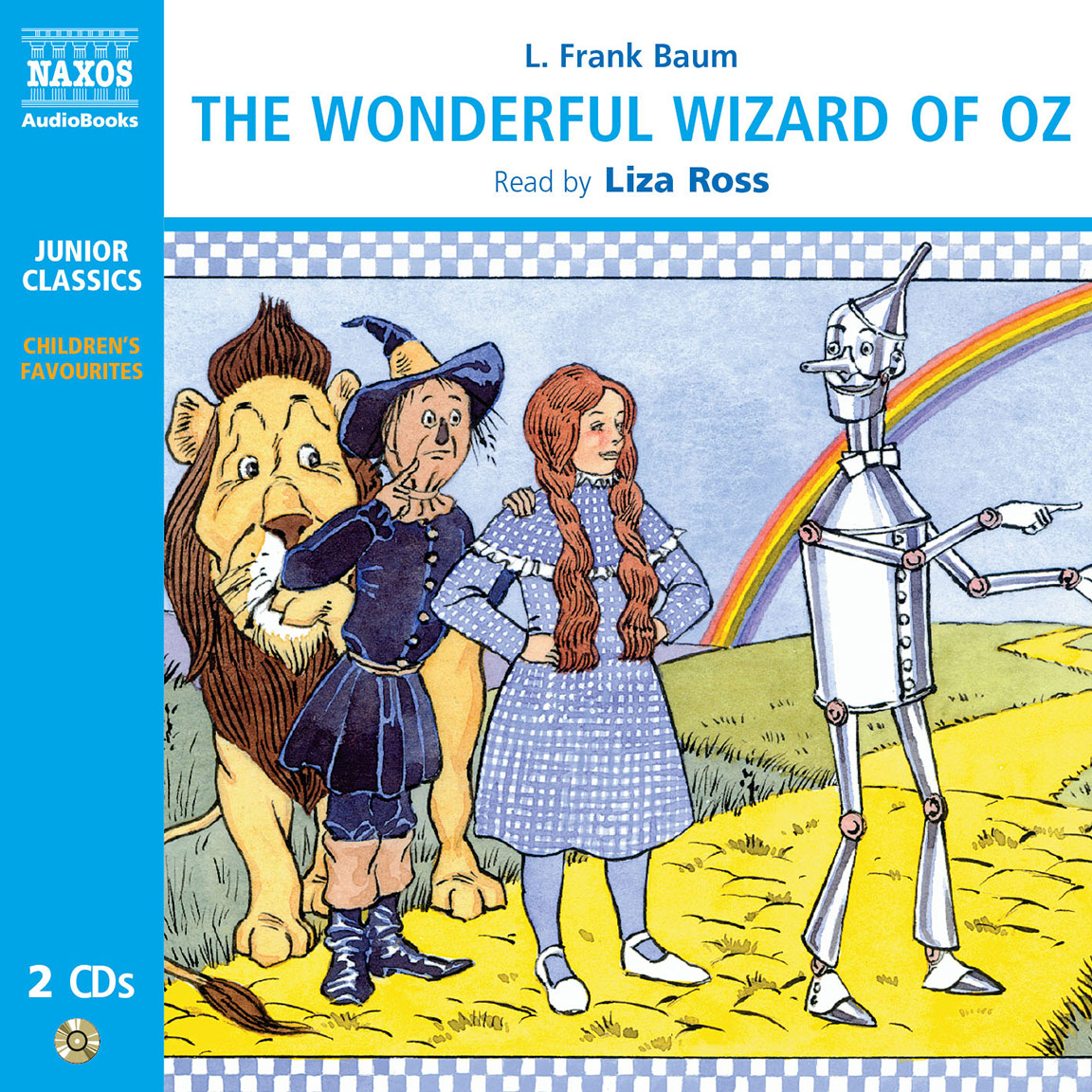Wonderful Wizard Of Oz The Abridged Naxos Audiobooks