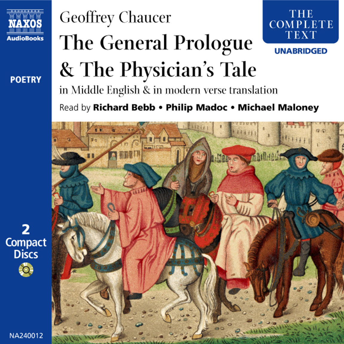 General Prologue The Physician S Tale Unabridged Naxo Audiobooks Canterbury Paraphrase