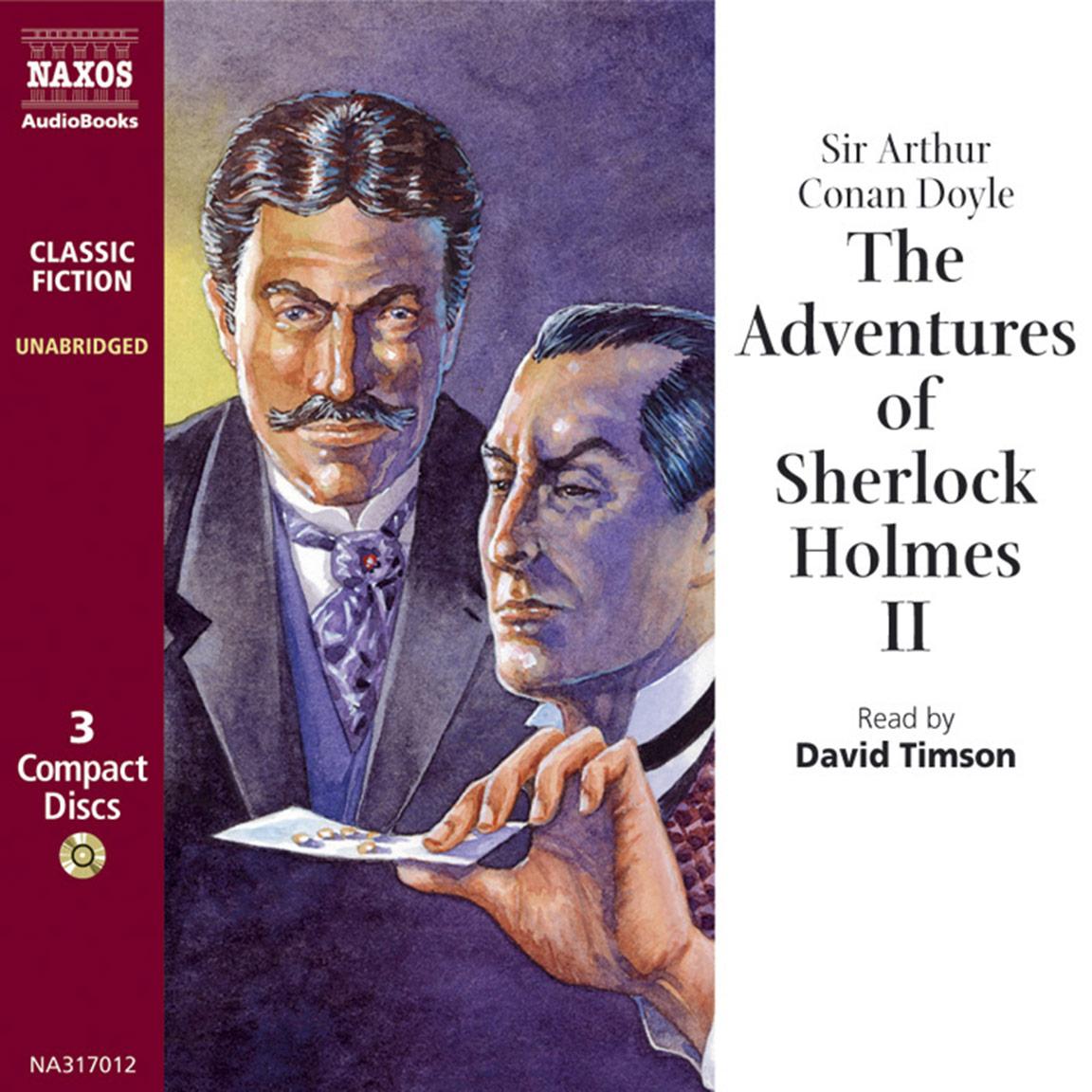 Adventures of Sherlock Holmes– VolumeII