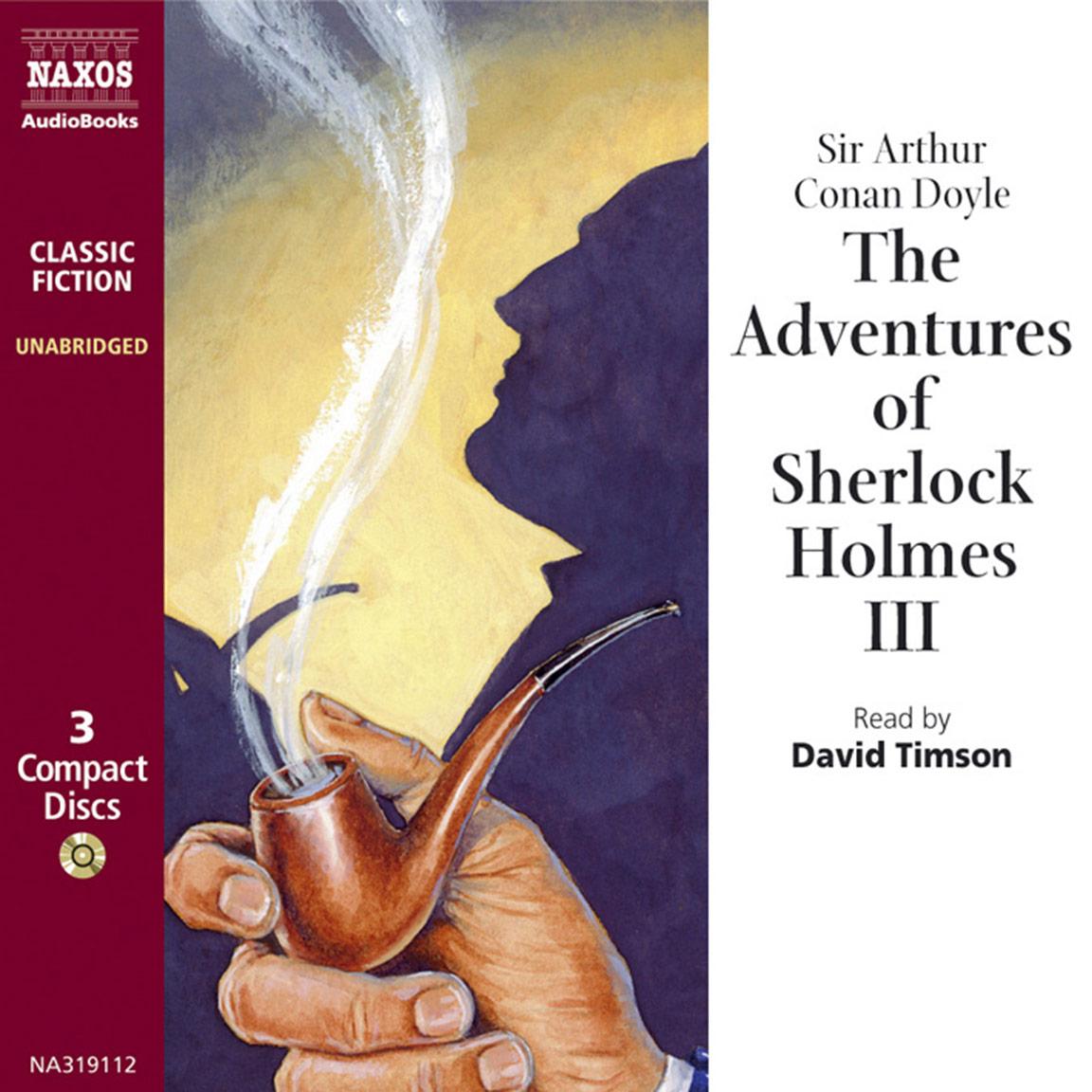 Adventures of Sherlock Holmes– VolumeIII