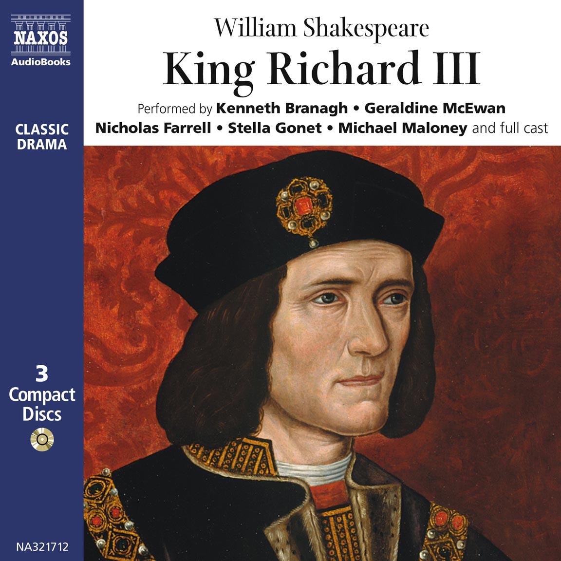 King Richard III (unabridged) – Naxos AudioBooks