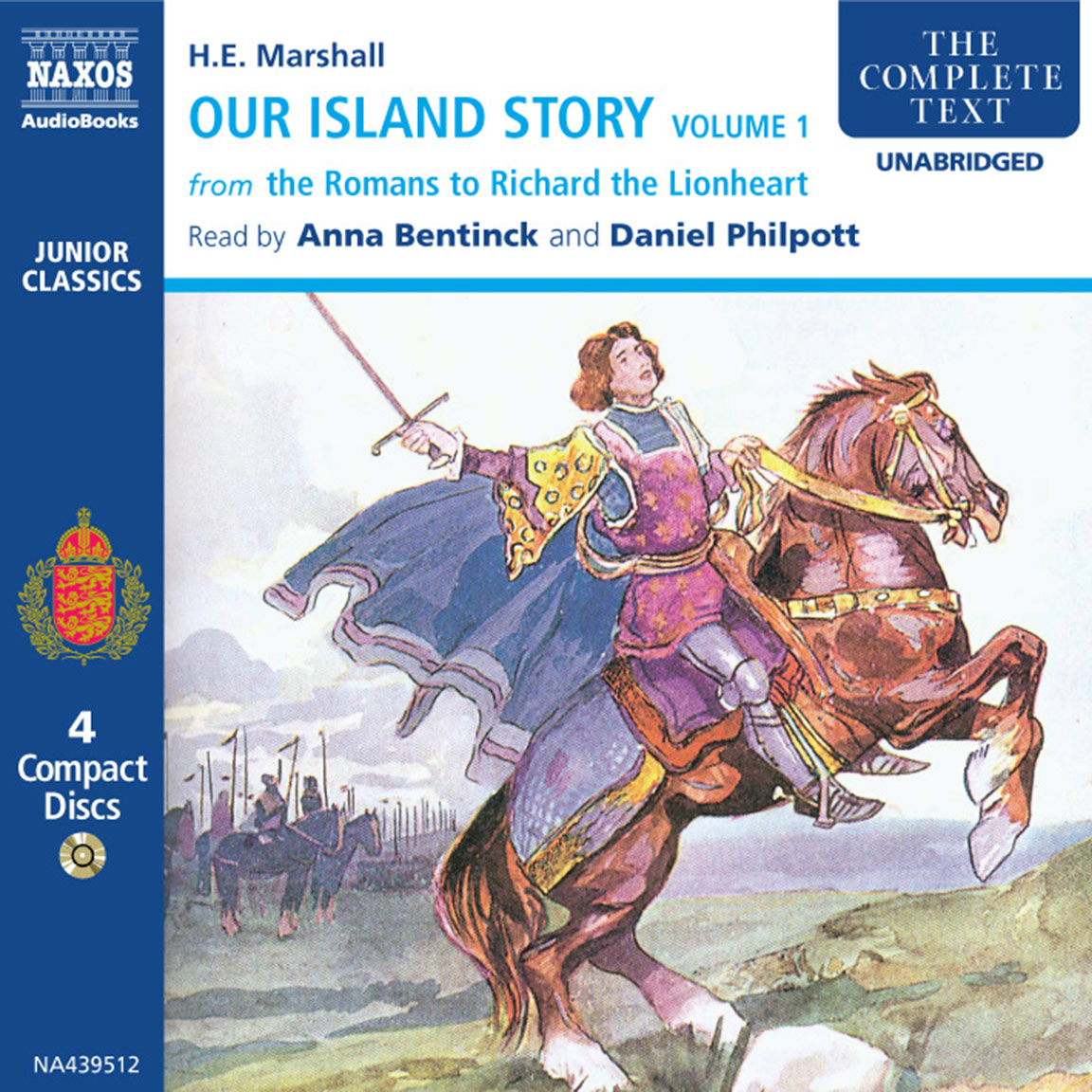Our Island Story – Volume 1 (unabridged) – Naxos AudioBooks