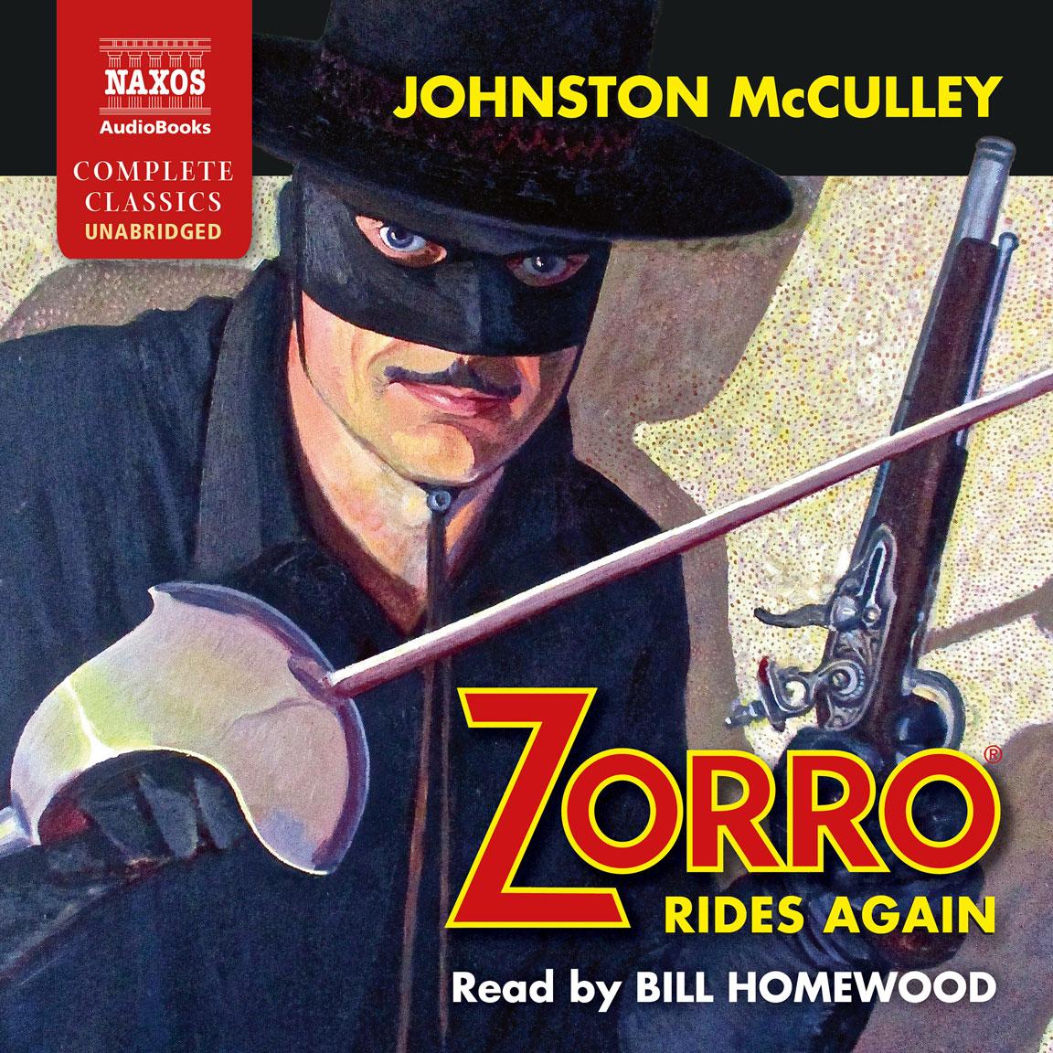 Zorro Rides Again (unabridged)