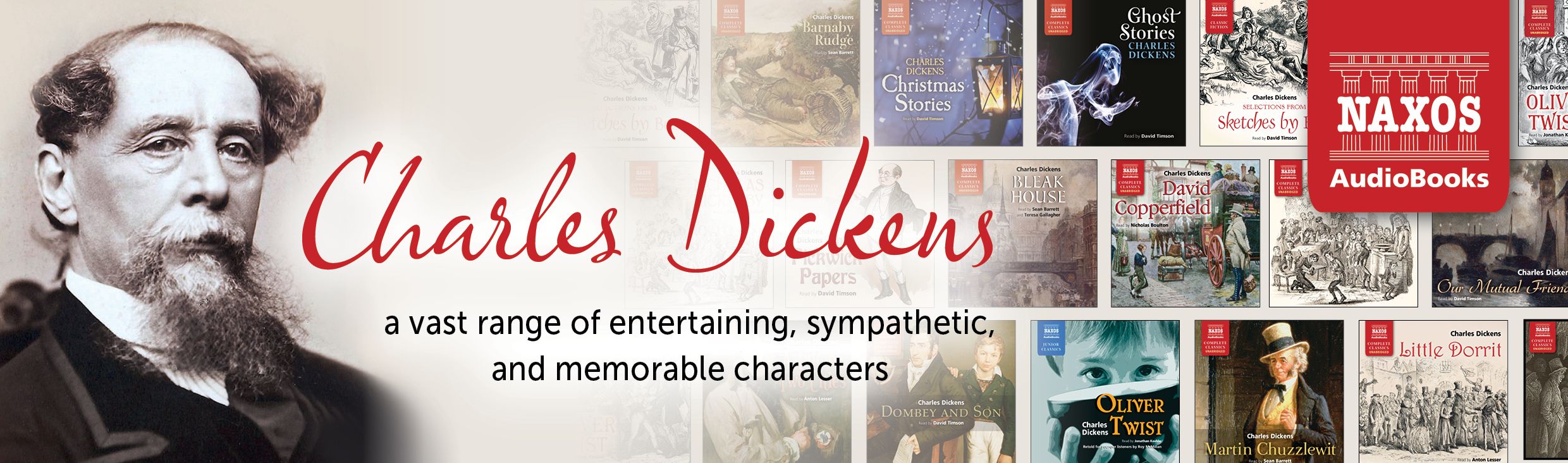 Dickens catalogue banner