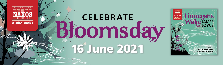 Finnegans Wake Bloomsday promo banner